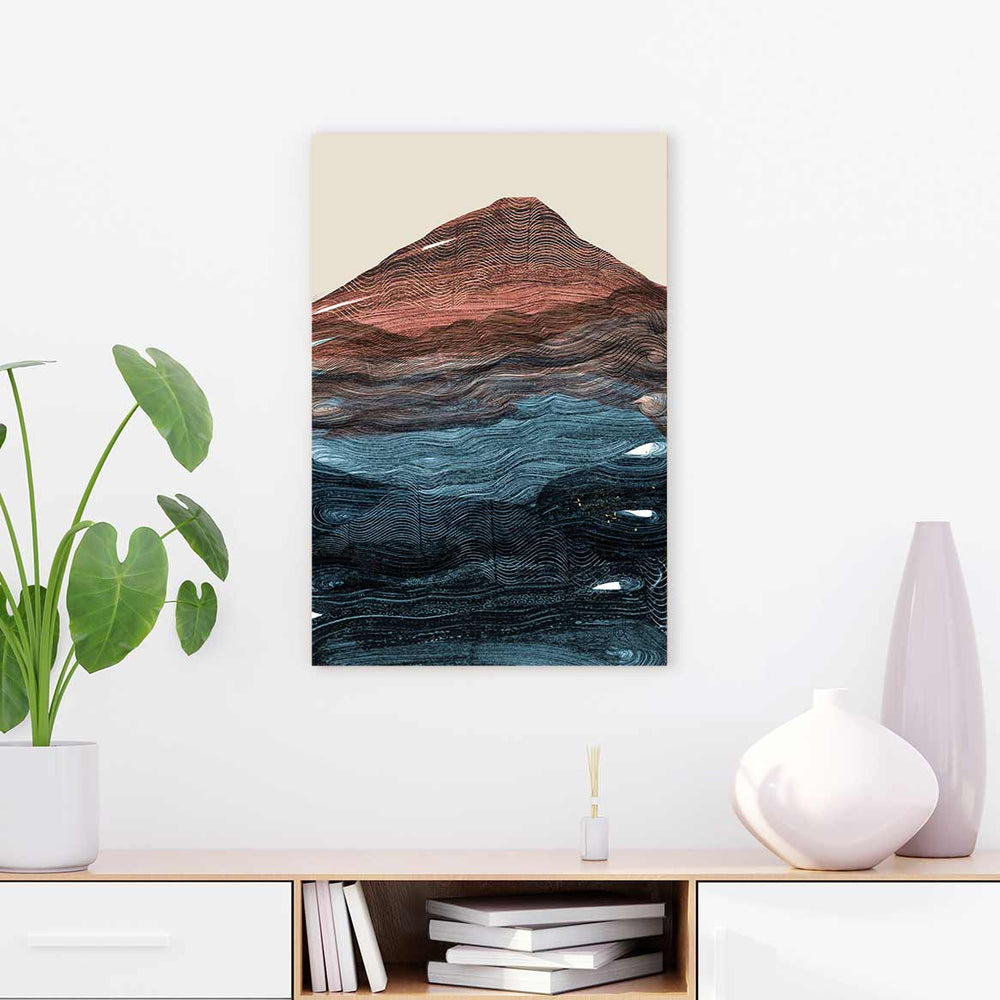 Fuji - Canvas Print by Dan Hobday | Art Bloom Canvas Art