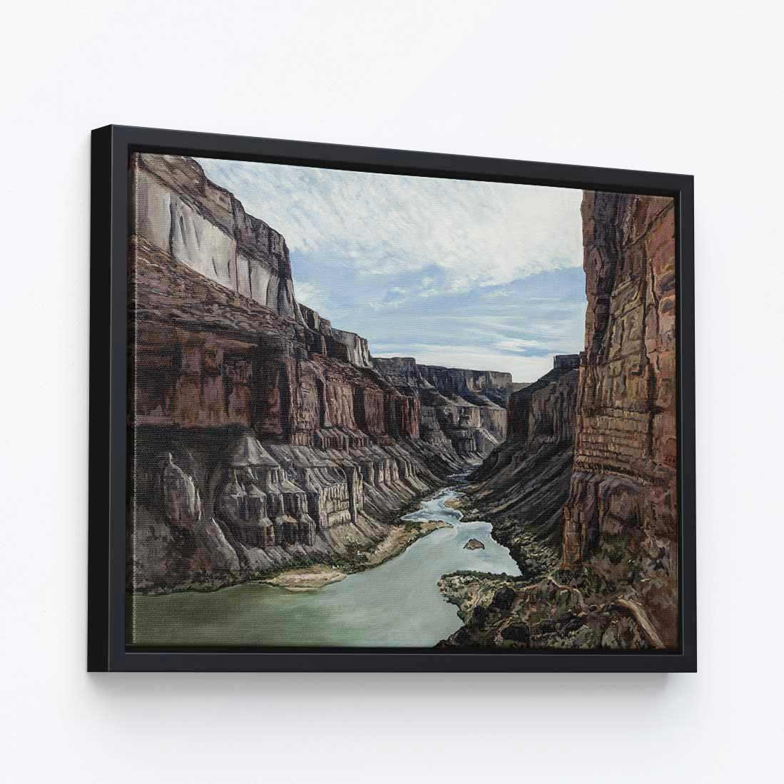 Into the Canyon - Canvas Print by Kristen Fogarty | Art Bloom Canvas Art
