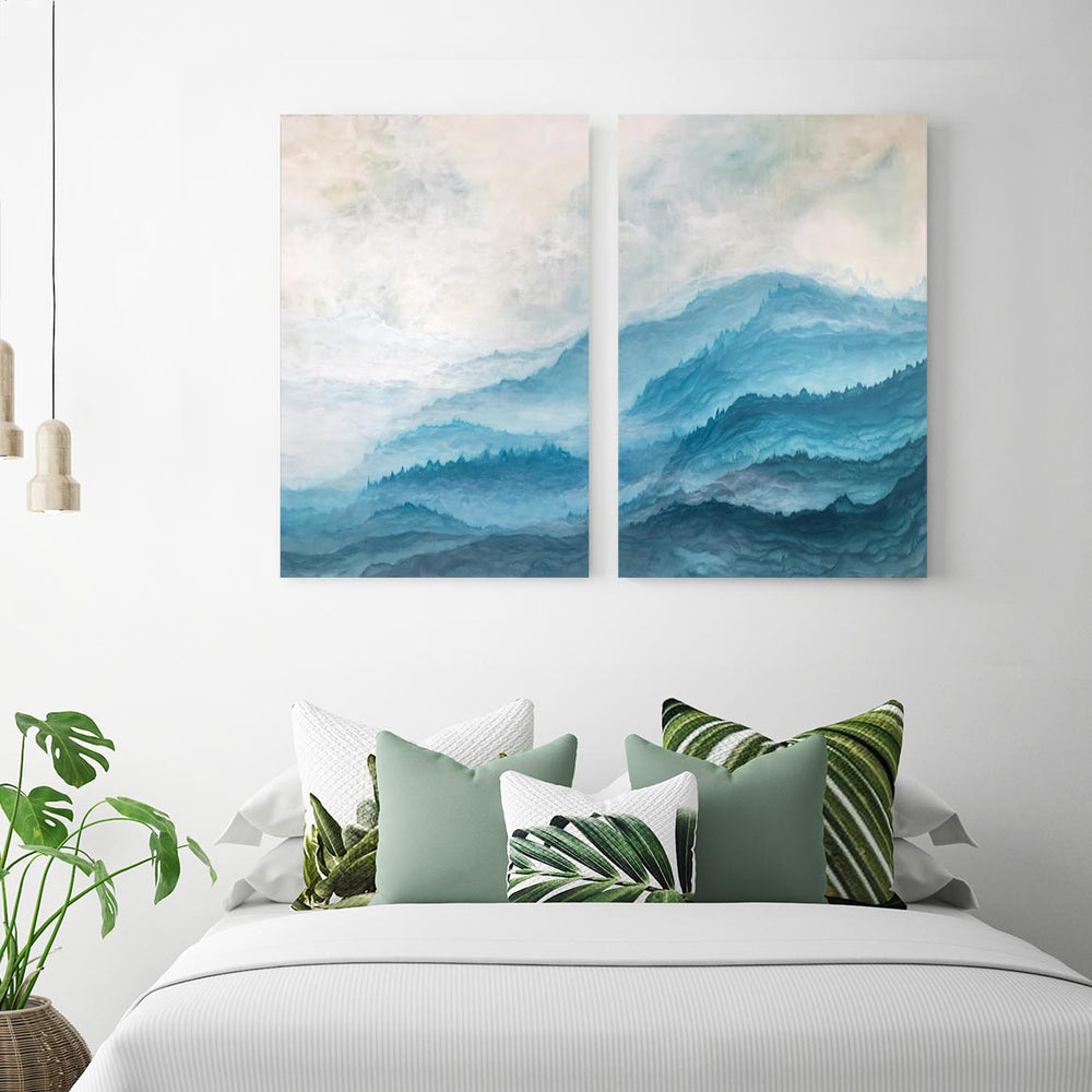 Journey - 2-Piece Canvas Print by Emily Magone | Art Bloom Canvas Art