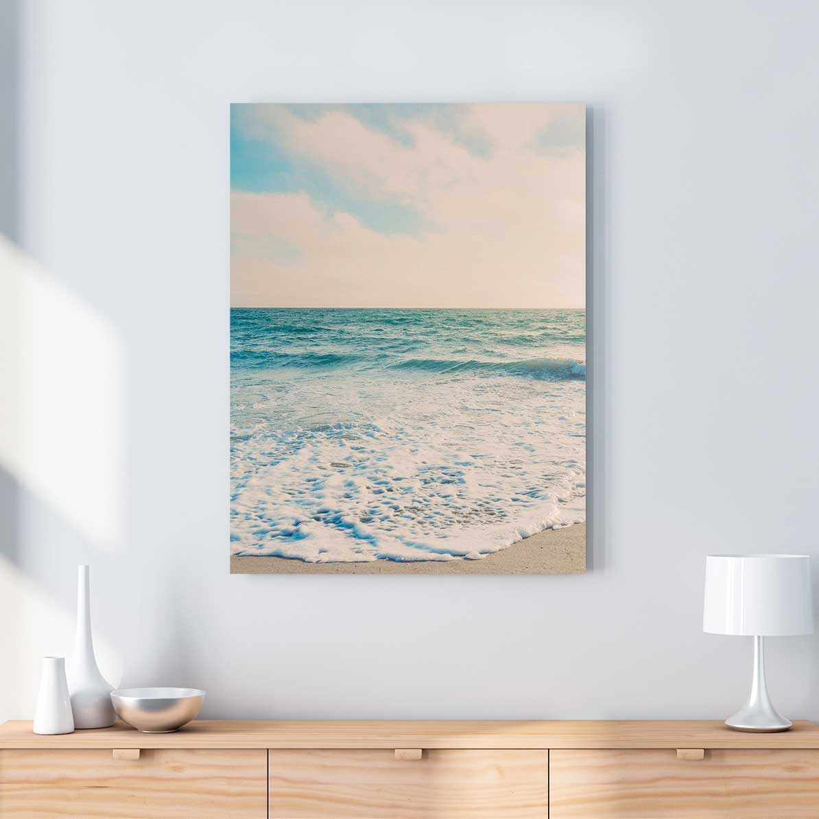 Malibu Beach - Canvas Print by Nate Taylor | Art Bloom Canvas Art