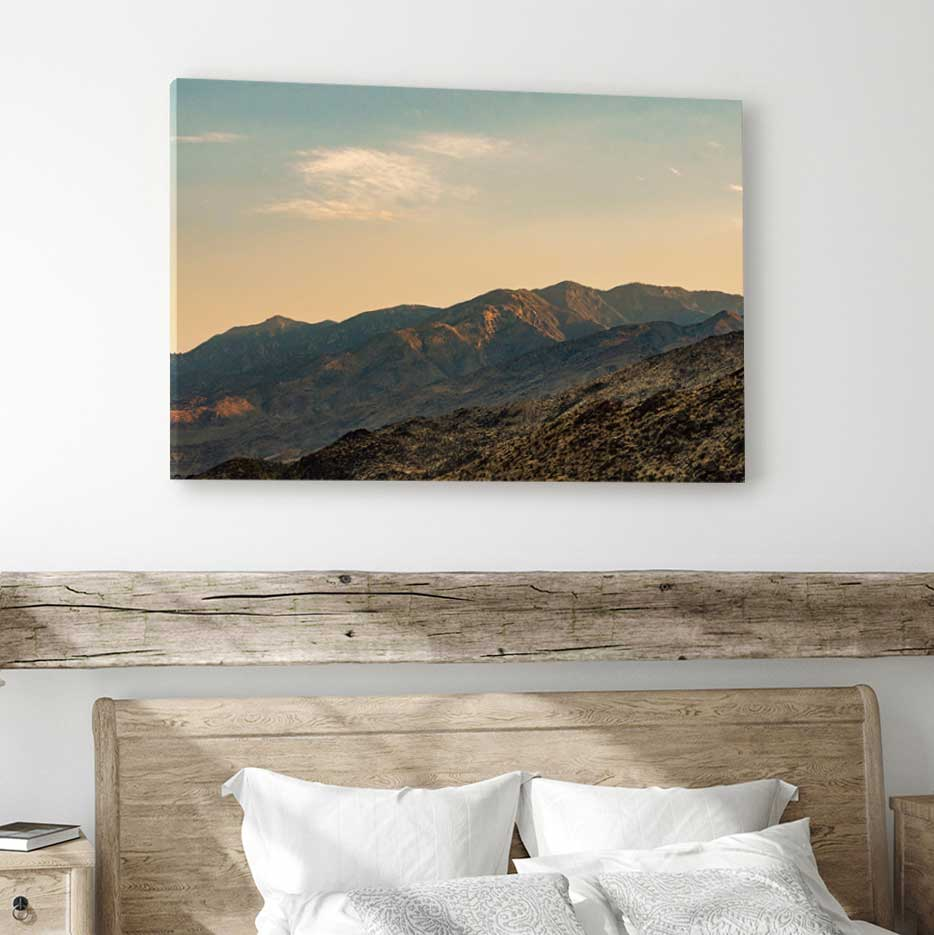 Palm Springs - Canvas Print by Nate Taylor | Art Bloom Canvas Art