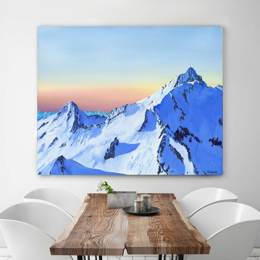 Pelion Mountain Canvas Art by Katie Kwasnicki | Art Bloom