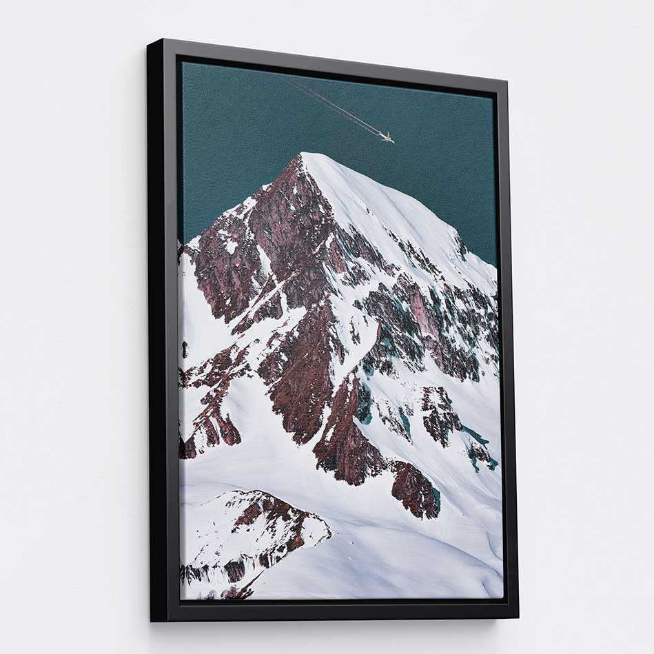 Snowy Summit - Canvas Print by Eberhard Grossgasteiger | Art Bloom Canvas Art