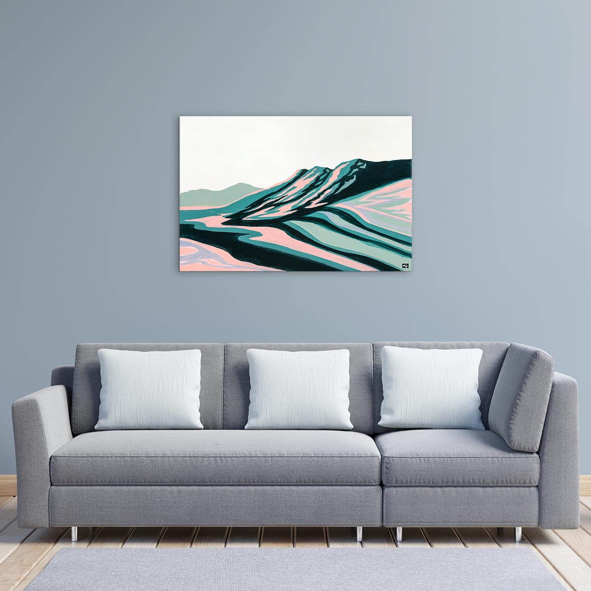 Solitude Canvas Art by Mallery Jane | Art Bloom