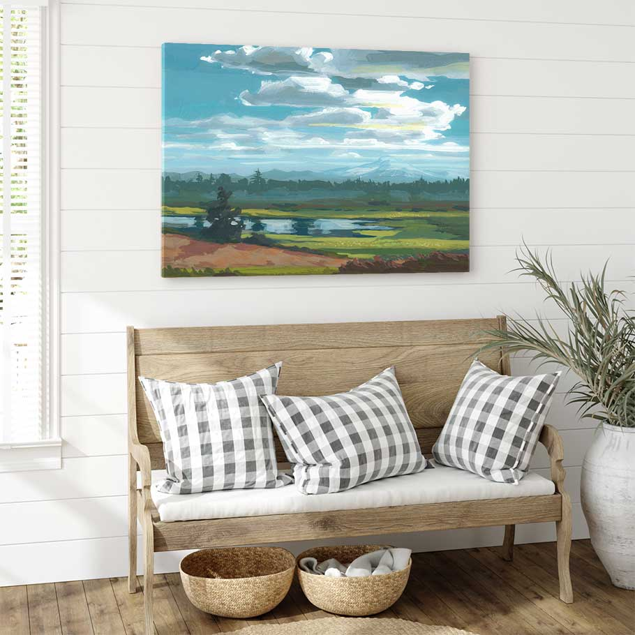 Tennant Lake - Canvas Print by Khara Ledonne | Art Bloom Canvas Art