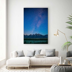 Grand Teton Lights - Canvas Print by Kyle Spradley | Art Bloom Canvas Art