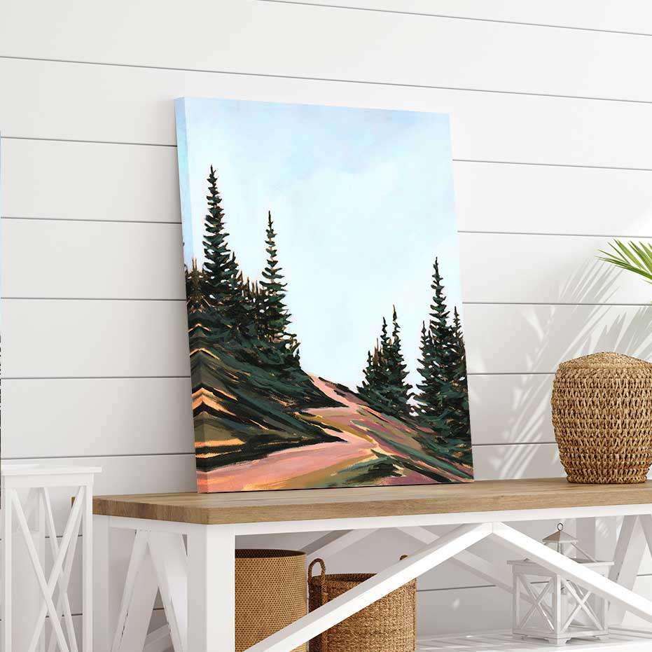 The Road Less Traveled - Canvas Print by Mallery Jane | Art Bloom Canvas Art