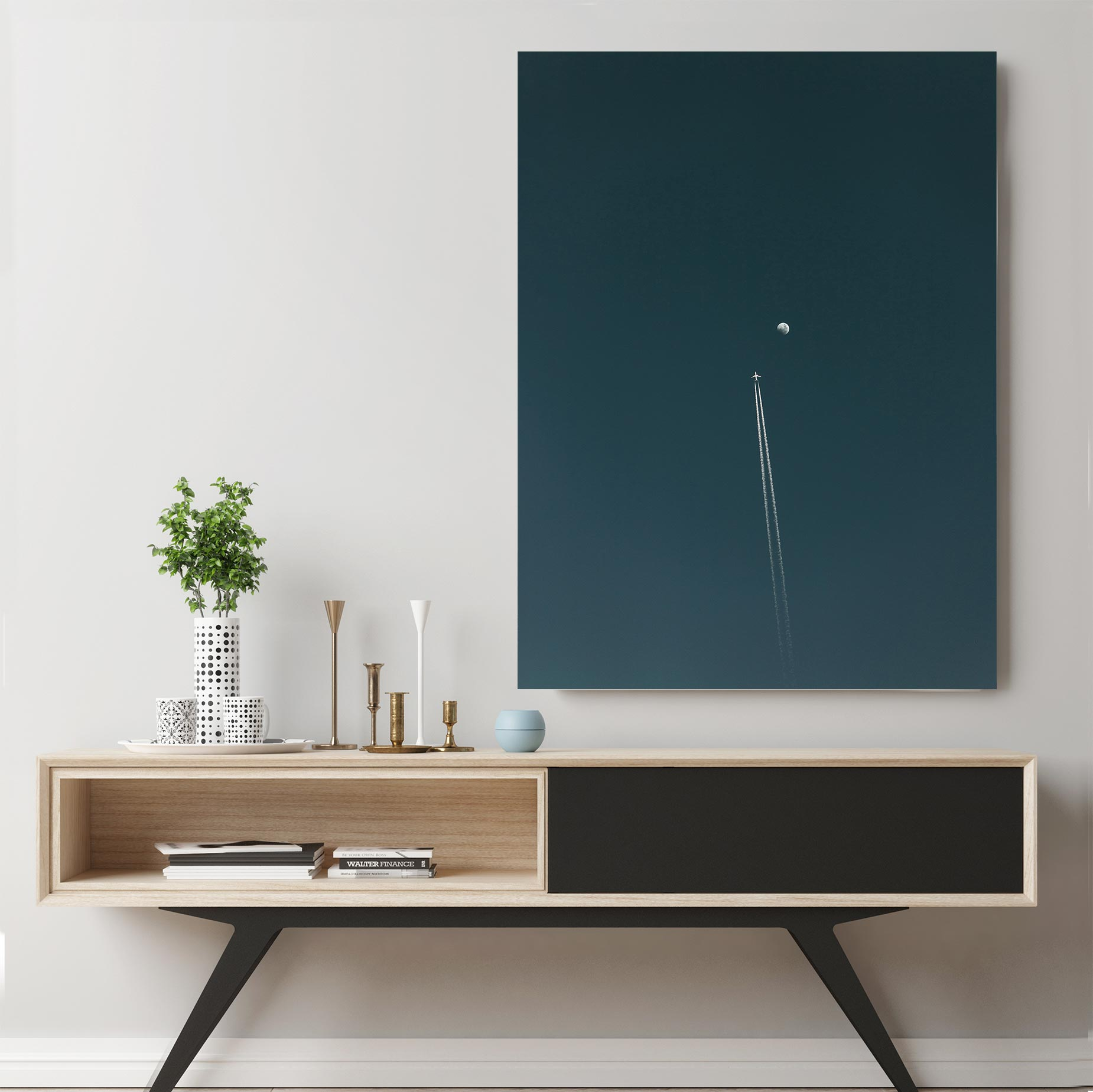The Fly-by Canvas Art by Eberhard Grossgasteiger | Art Bloom
