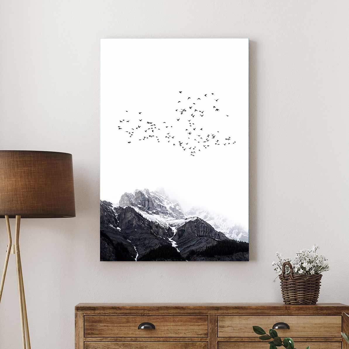 The Mountains - Canvas Print by Dan Hobday | Art Bloom Canvas Art