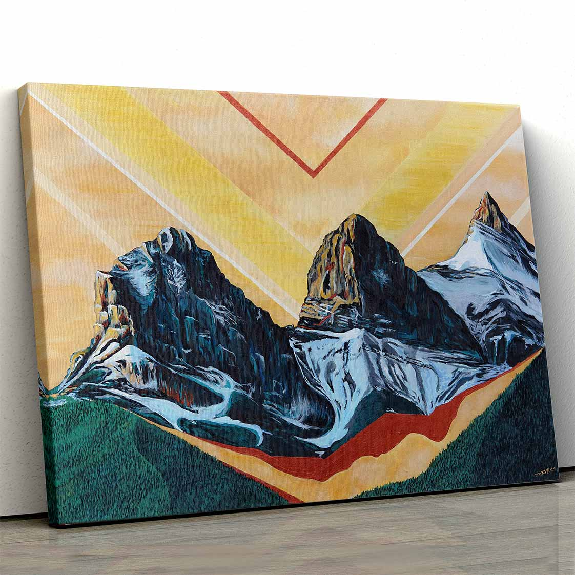 Three Sisters Canvas Art by Kelsey Van Raay | Art Bloom