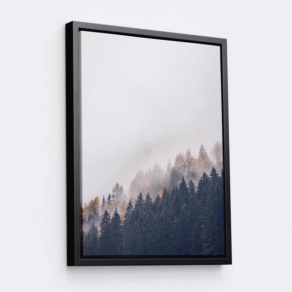 Trees Tilted - Canvas Print by Eberhard Grossgasteiger | Art Bloom Canvas Art