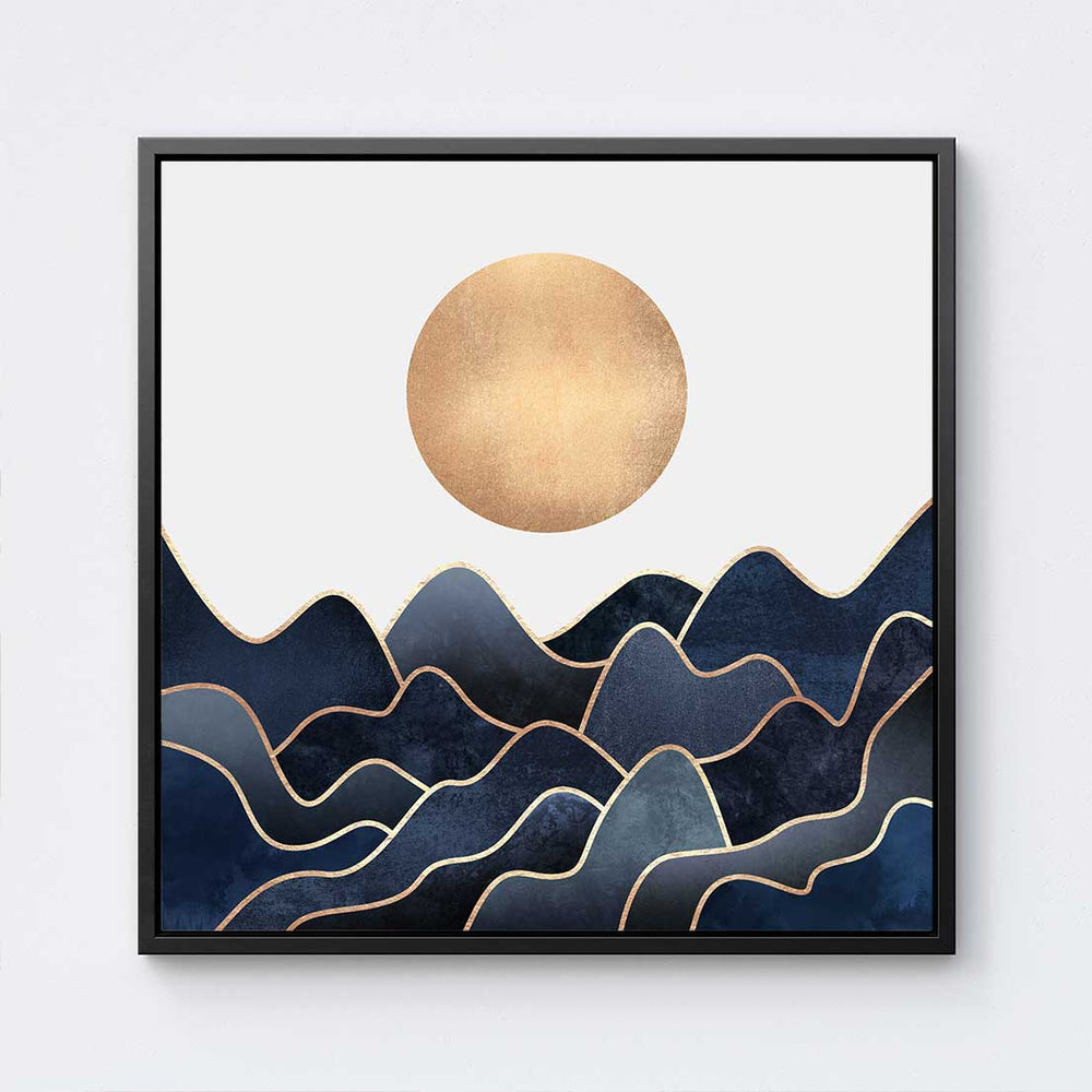Waves - Canvas Print by Elisabeth Fredriksson | Art Bloom Canvas Art