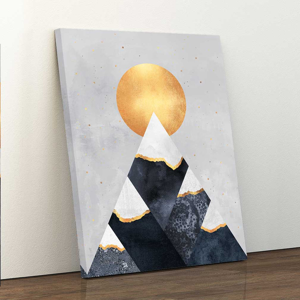 Winter Mountains - Canvas Print by Elisabeth Fredriksson | Art Bloom Canvas Art