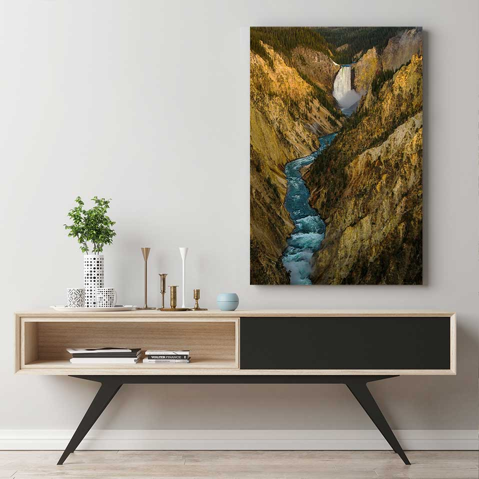 Yellowstone River - Canvas Print by Kyle Spradley | Art Bloom Canvas Art