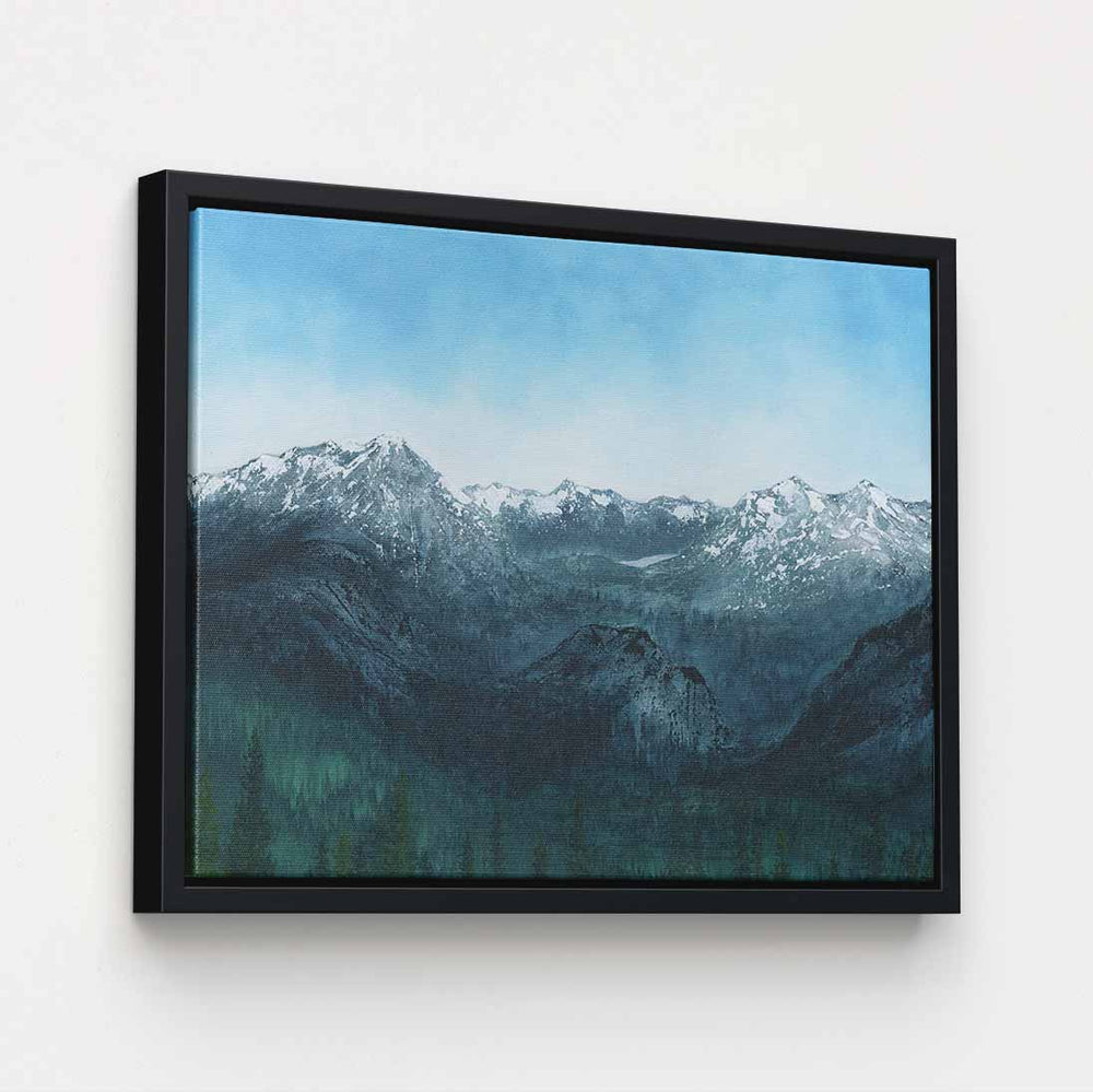 Banff - Canvas Print by Emily Magone | Art Bloom Canvas Art