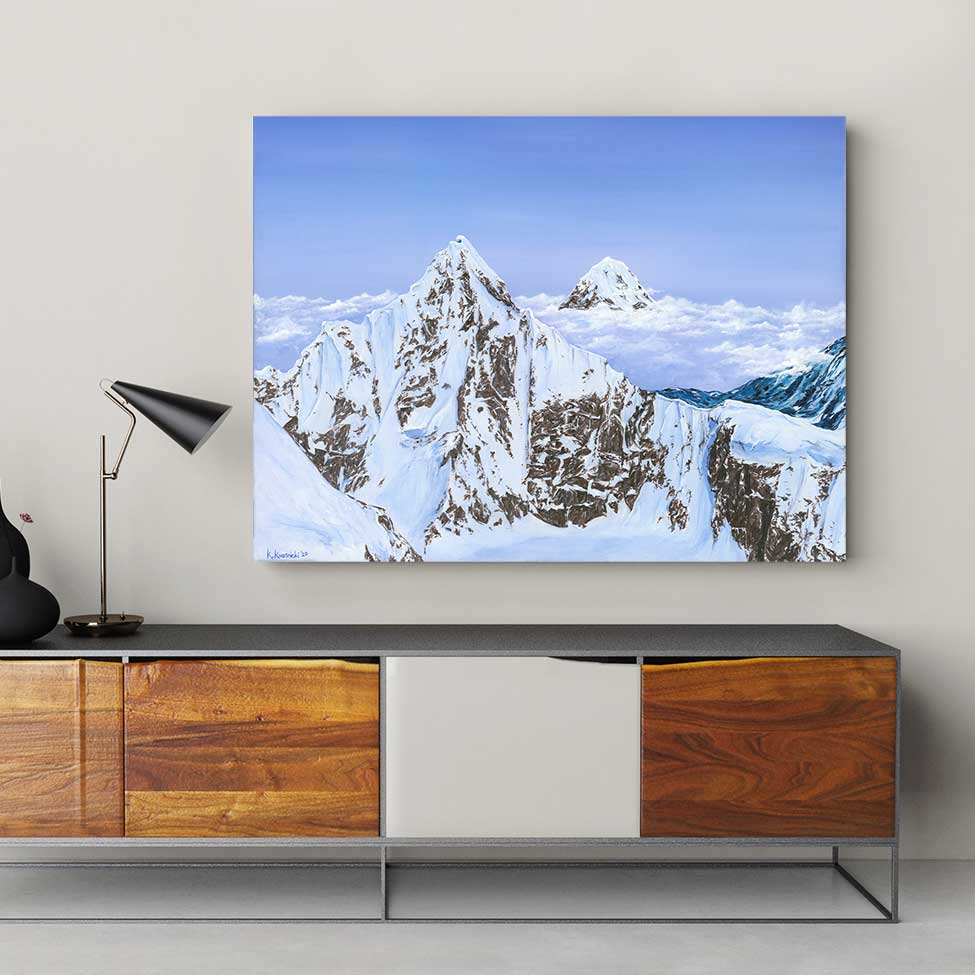 Denali Haze - Canvas Print by Katie Kwasnicki | Art Bloom Canvas Art