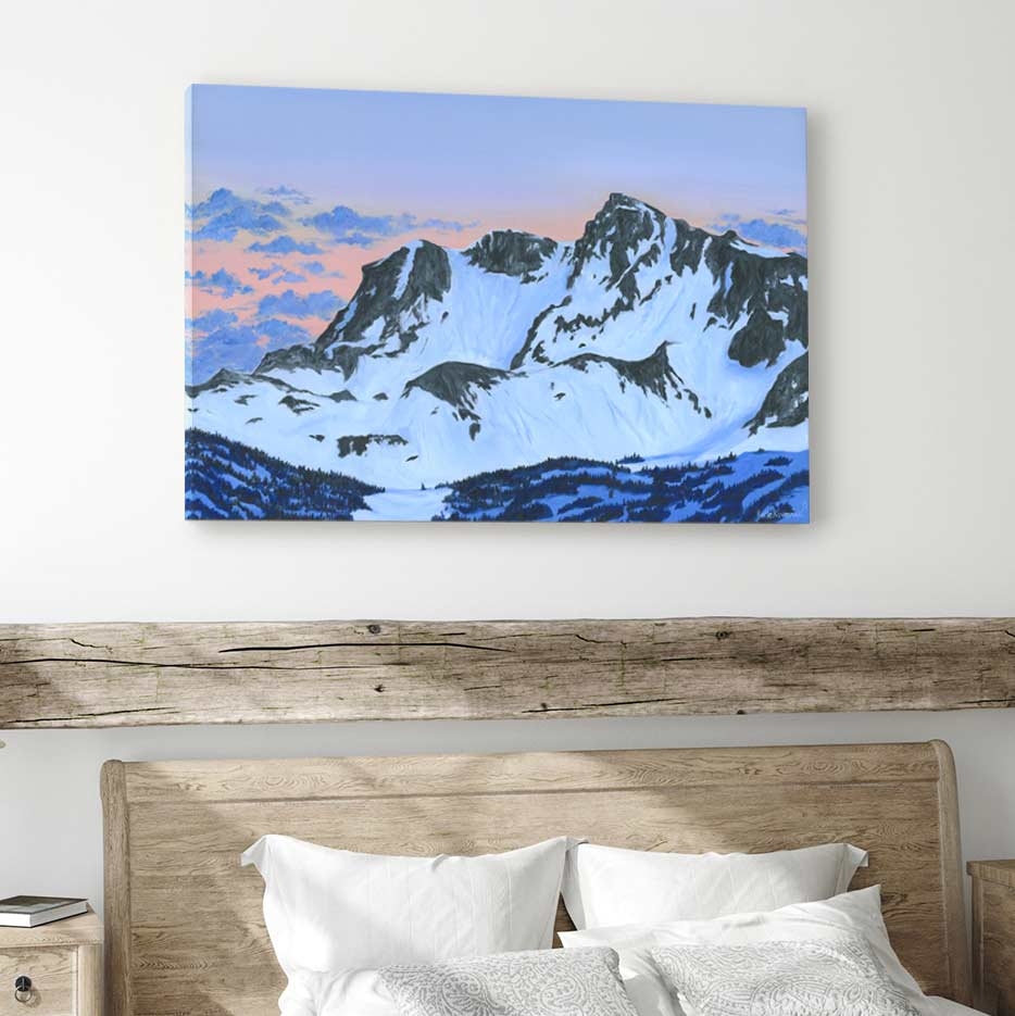 Whistler Creekside - Canvas Print by Katie Kwasnicki | Art Bloom Canvas Art