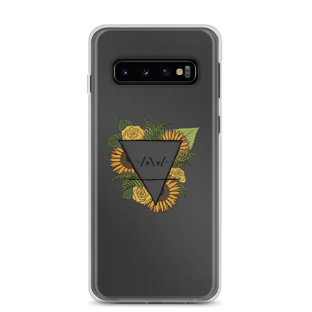 Flower Logo Samsung Phone Case