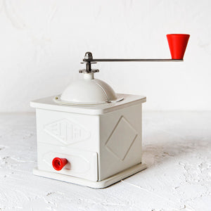 White Coffee Grinder