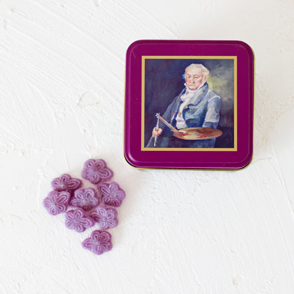 Violet Candies - Goya Tin