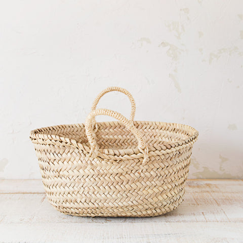 Small Palm Basket - Make your own Gourmet Pack