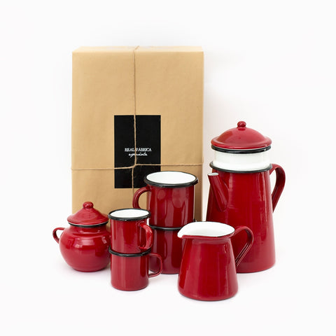 Just Married Coffee Set Pack