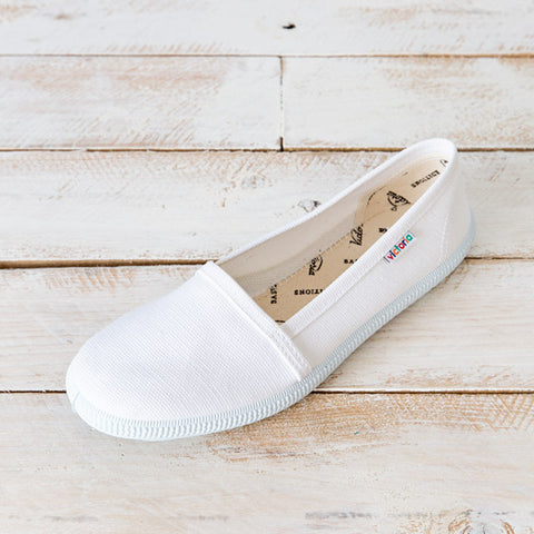 White Victoria Camping Sneakers