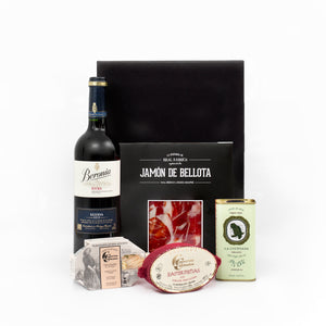 Wine, Olive Oil, Ham and Preserves Pack