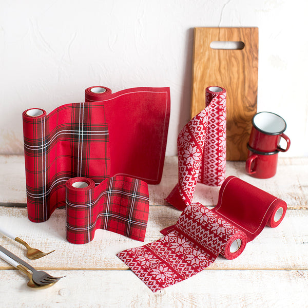 Red Napkins - Large