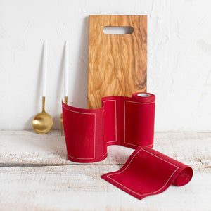 Red Napkins - Small