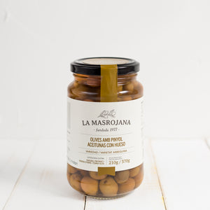 Arbequina Olives with  Bone
