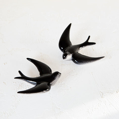 Couple of Happy Swallows