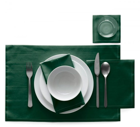 Green Table Mats
