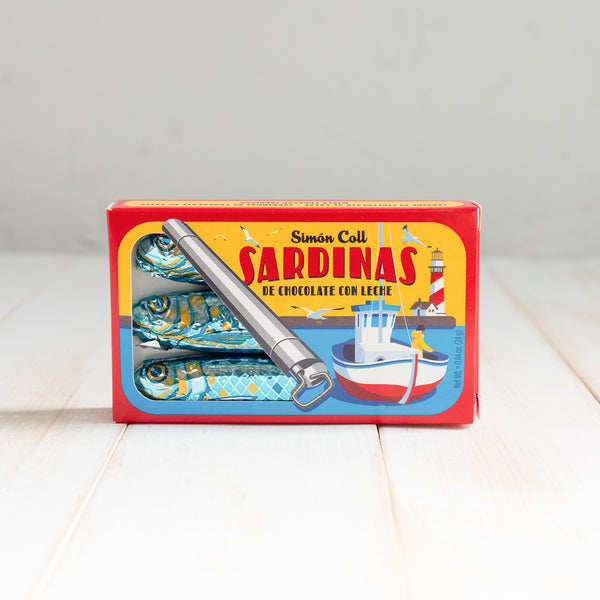 Sardinas de Chocolate