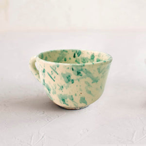 Second Bowl Green Splatter Úbeda Ceramic