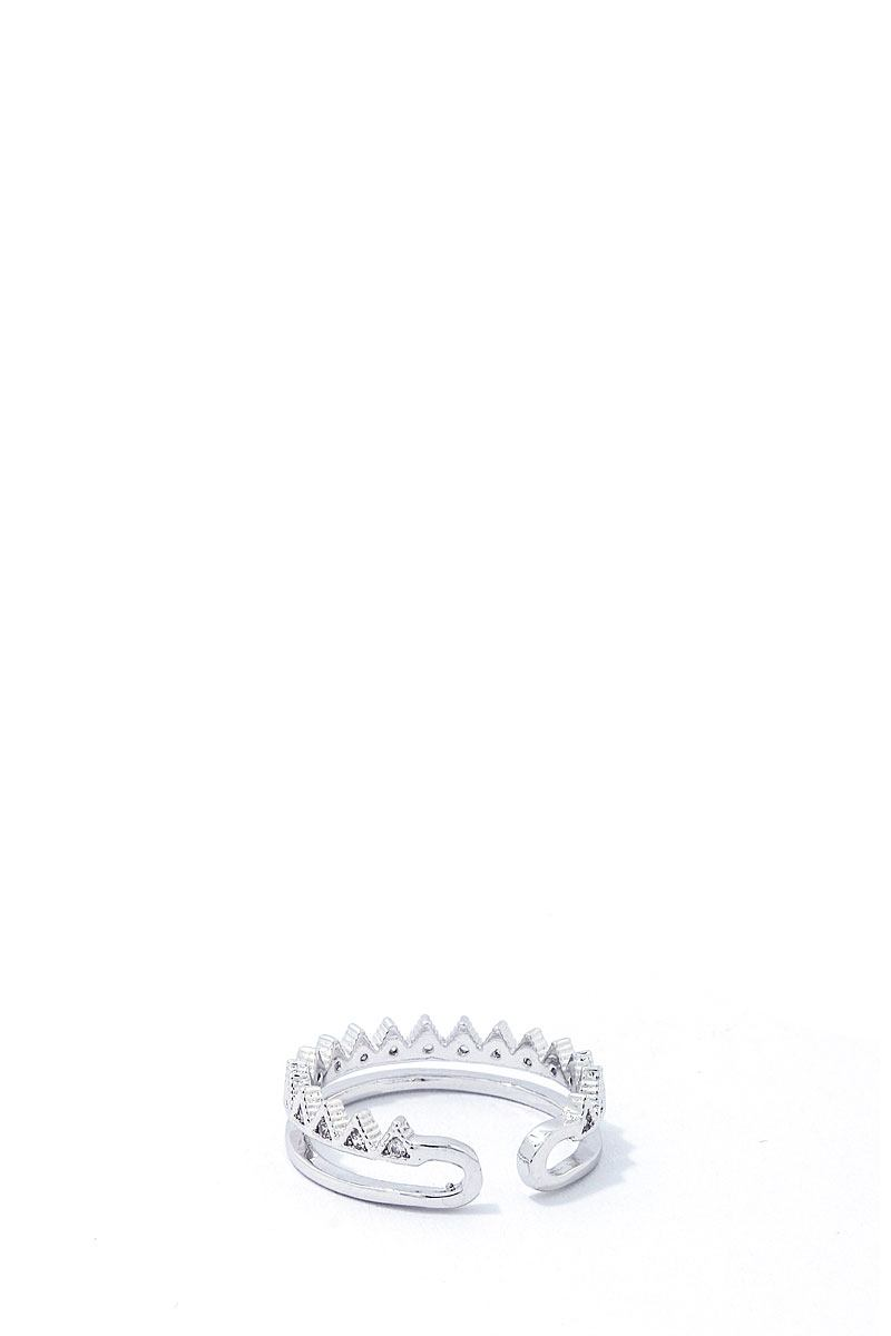 Trendy Fashion Rhinestone Zirconia Ring