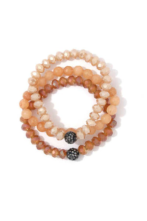Beaded Stretch Bracelet Se