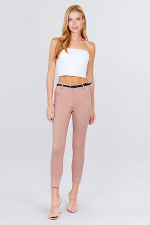 Bengaline Belted Pants