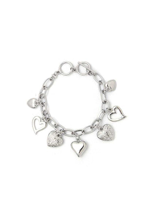 Fashion Multi Heart Bracelet