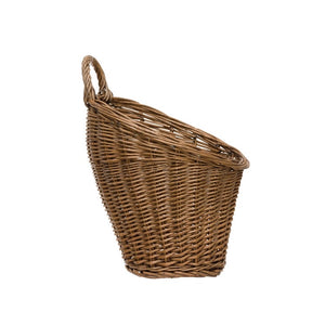 PRESALE- Rattan Wall Basket with Handle (Hangs or Sits)