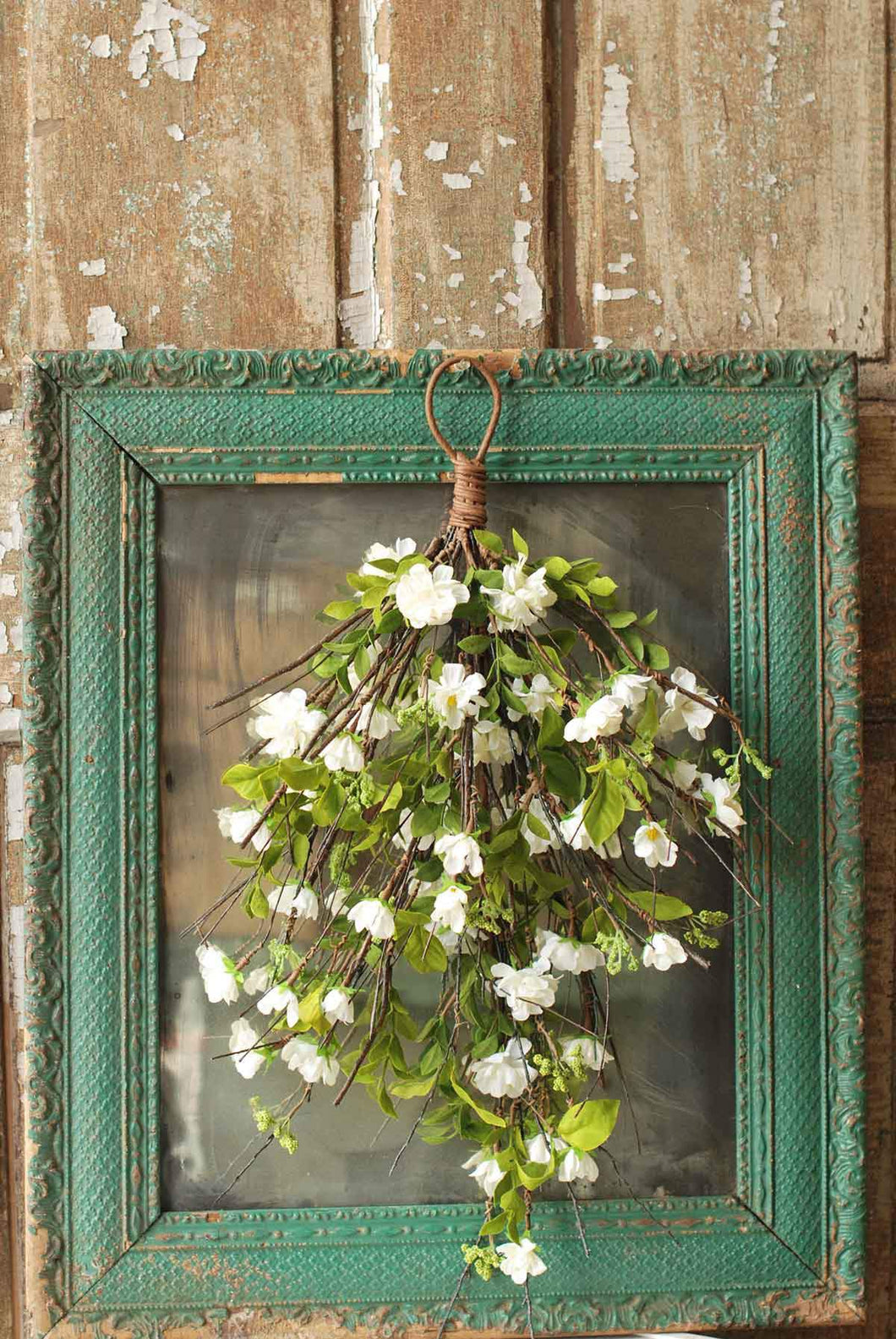 White Cherry Drop Floral - Baycreek & Co
