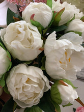 Real touch white peony's - Baycreek & Co