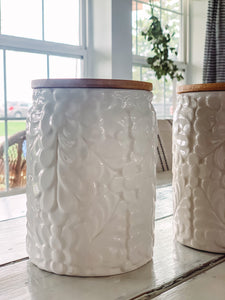 Ceramic Canisters (set of 2) - Baycreek & Co