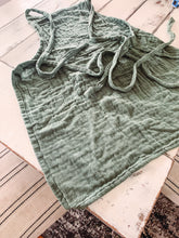 Green Cotton Apron - Baycreek & Co