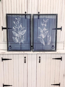 45. Navy screen set of pictures - Baycreek & Co