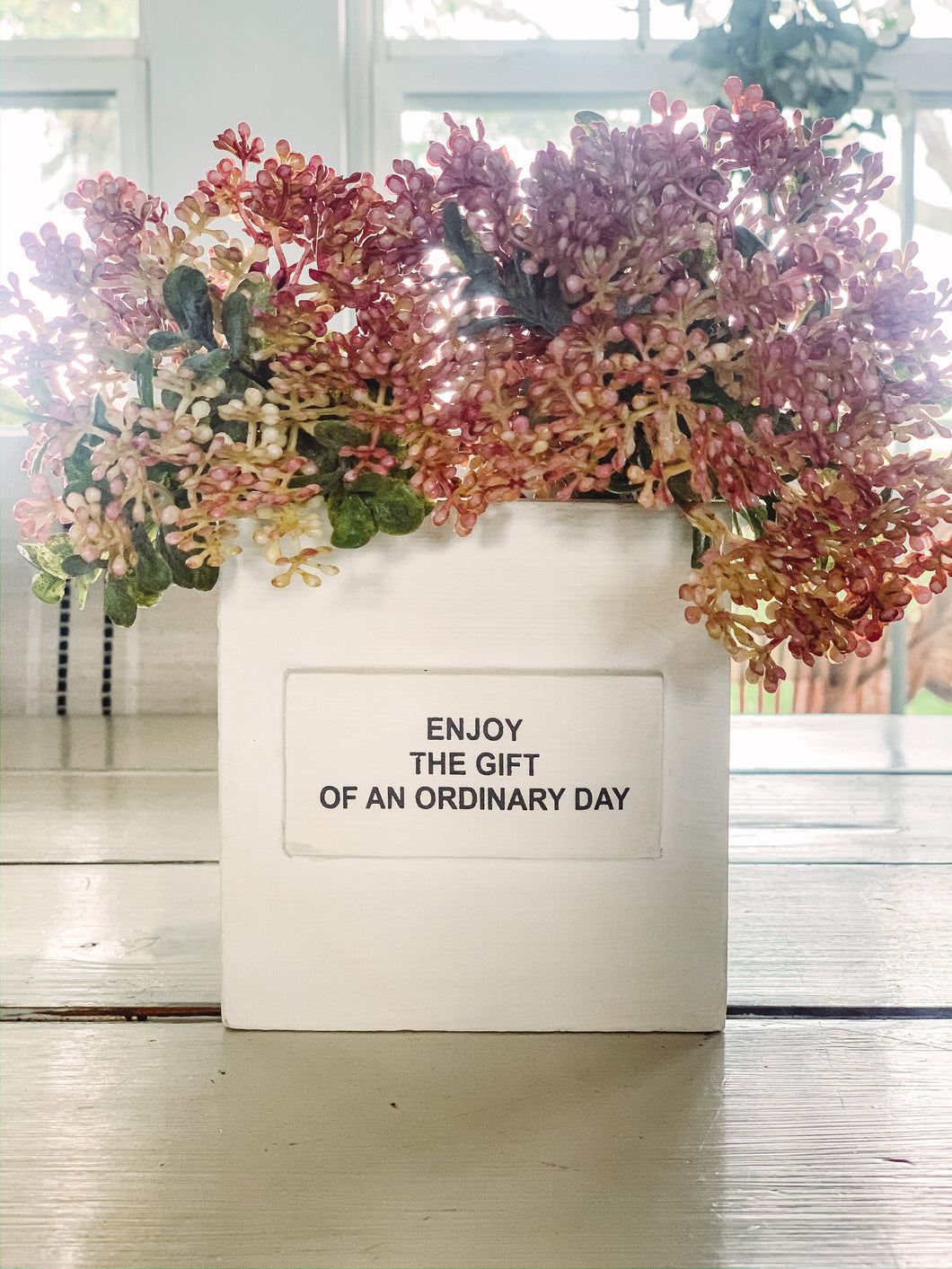 Enjoy the gift of an ordinary day nest box - Baycreek & Co