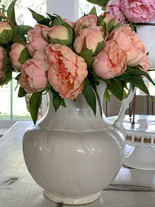 Real touch peach, orange peony bundle - Baycreek & Co