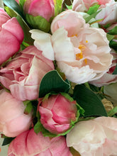 10. Real touch pink peony - Baycreek & Co