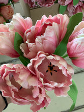 12. Real touch parrot tulips (pink) - Baycreek & Co