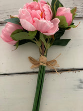 Real touch light pink peony's - Baycreek & Co